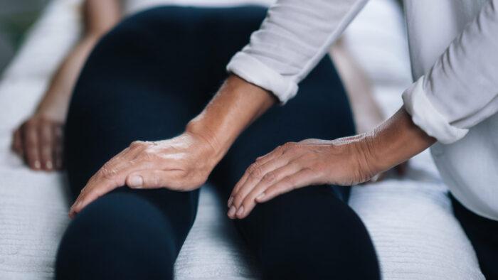 CranioSacral Therapy on Legs